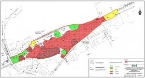 Zuordnungsbereiche nach LAGA-Klassen (Quelle: Umweltbericht S.36)